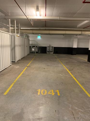 Indoor lot parking on Etherden Walk in Mascot