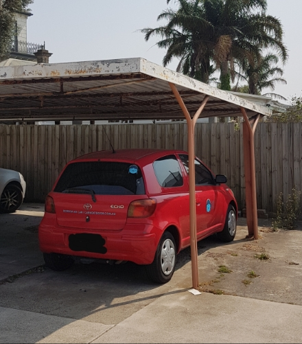 Carport parking on Barkly Street in Mordialloc Victoria