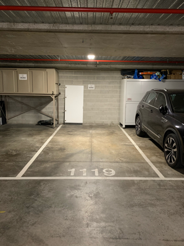 Indoor lot parking on Bourke St in Surry Hills