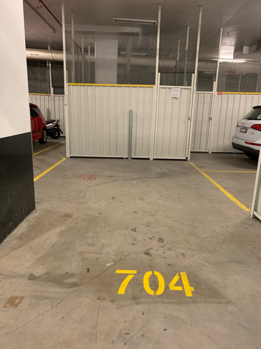 Indoor lot parking on Jackson Dr in Mascot