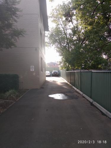 Outside parking on Wigram St in Harris Park