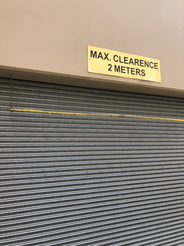 Lock up garage parking on Flinders St in Surry Hills