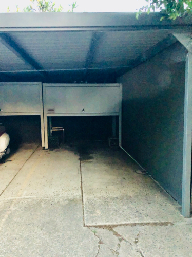 Carport parking on Bishops Ave in Randwick