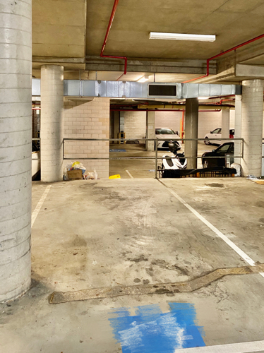 Carport parking on Jones St in Ultimo