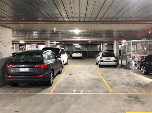 Indoor lot parking on N Rocks Rd in North Rocks