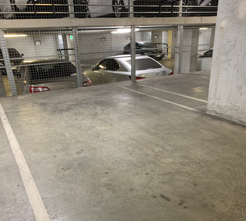 Indoor lot parking on Doepel Way in Docklands