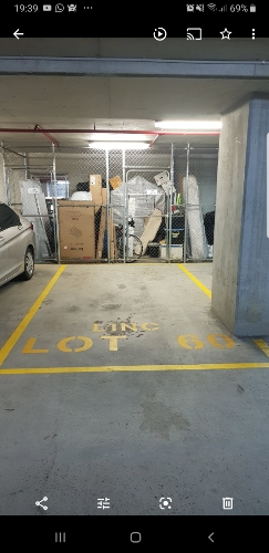 Indoor lot parking on Linc in Brodie Spark Dr