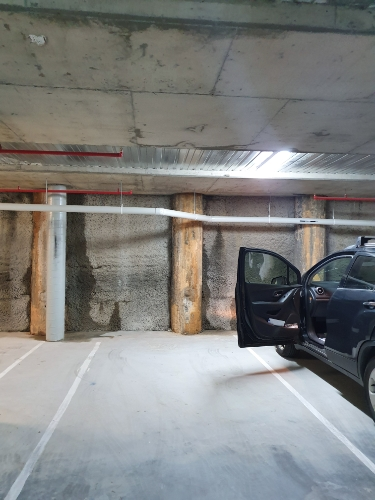 Undercover parking on Ainslie Ave in Canberra