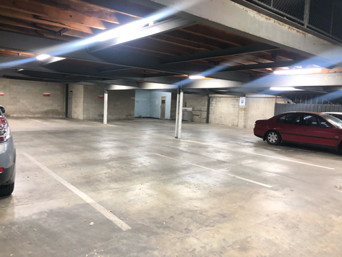 Indoor lot parking on Pirie St in Adelaide