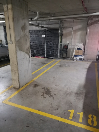 Secured indoor parking lot in Clemton Park