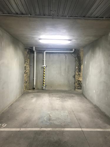 Lock up garage parking on