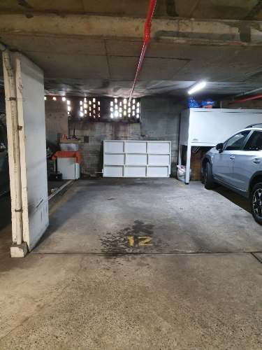 Indoor lot parking on Penkivil St in Bondi