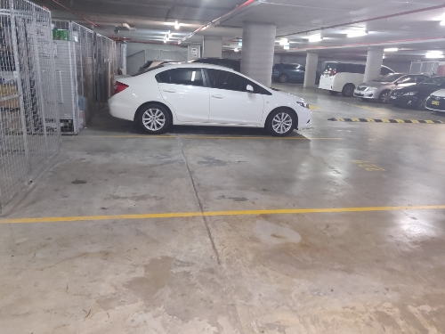 Indoor lot parking on Mooltan Avenue in Macquarie Park New South Wales