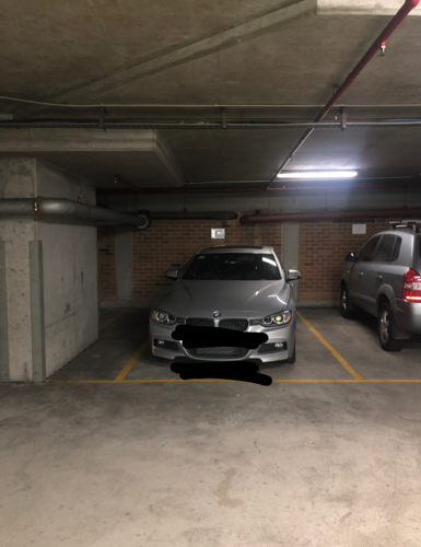 parking on Sussex St in Sydney