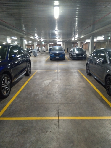 Indoor lot parking on Victoria Rd in Parramatta