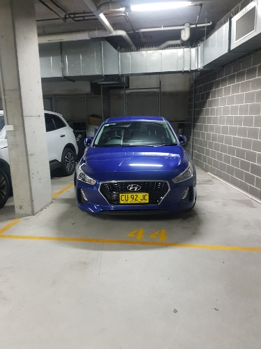 Undercover parking on George St in Waterloo