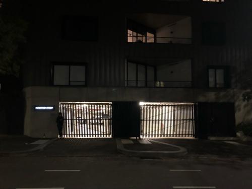 Indoor lot parking on Queensberry St in North Melbourne