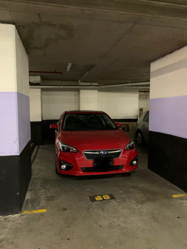 Indoor lot parking on George St in Sydney