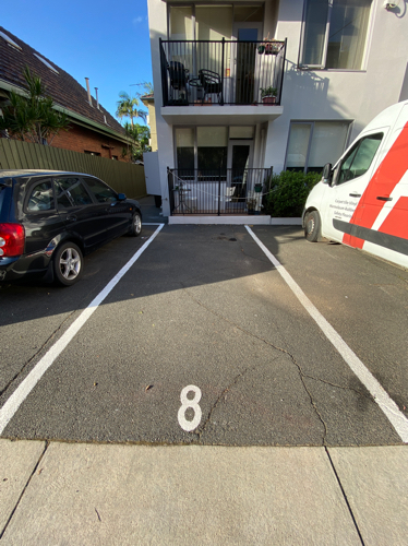 Outdoor lot parking on Chapel St in St Kilda