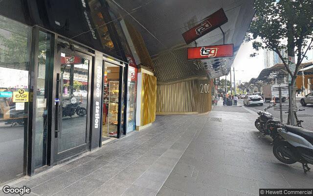 parking on Spencer St in Melbourne