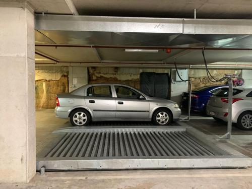 Lock up garage parking on Albert St in North Parramatta