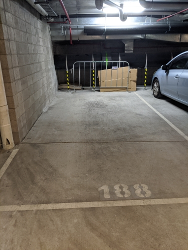 Undercover parking on Campbell St in Bowen Hills