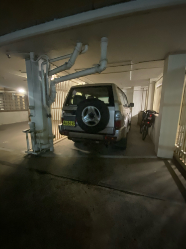 Lock up garage parking on Mosely Street in Strathfield New South Wales