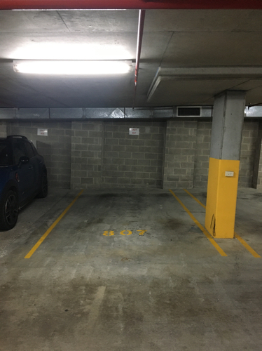 parking on City Walk in Canberra
