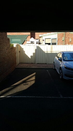Outside parking on Courtney St in North Melbourne