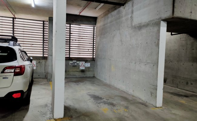 Indoor lot parking on Goulburn Street in Surry Hills New South Wales