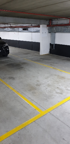 Indoor lot parking on Fitzroy Street in St Kilda Victoria