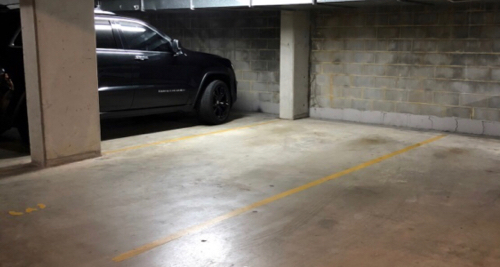 Indoor lot parking on Crown St in Woolloomooloo