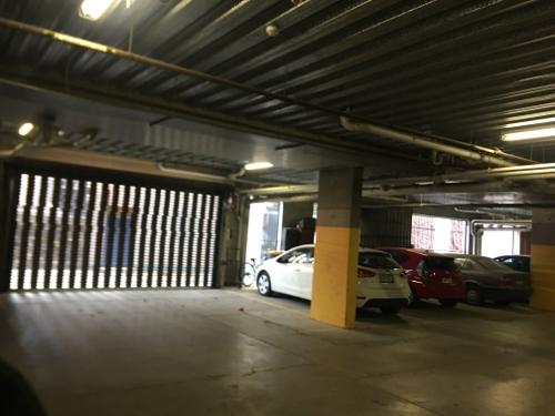 Lock up garage parking on Howard St in North Melbourne