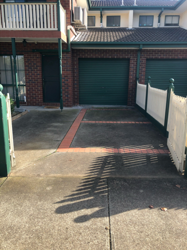 This parking space is nice and secure that is off the street. Gates that close behind & 24/7 access.