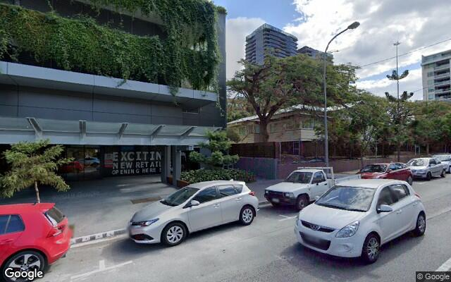 Indoor lot parking on Merivale St in South Brisbane