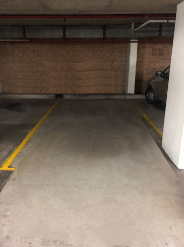 Indoor lot parking on Churchill Ave in Strathfield