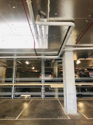 Lock up garage parking on Sturt St in Southbank
