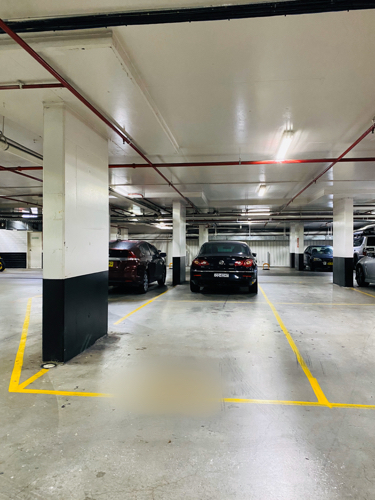 Indoor lot parking on Potter St in Waterloo