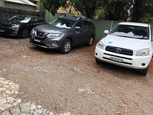 Outside parking on Cooper St in Strathfield