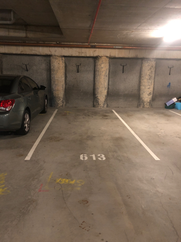 Indoor lot parking on Main St in Kangaroo Point