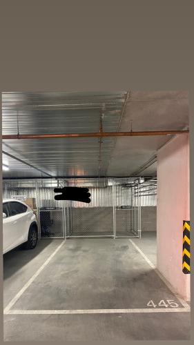 Undercover parking on Spencer Street in West Melbourne Victoria