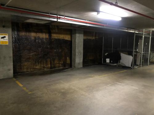 Indoor lot parking on William St in Woolloomooloo