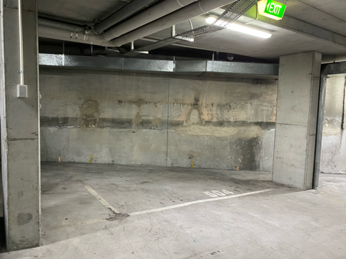 Indoor lot parking on Regent Street in Chippendale