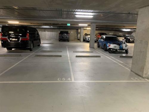 parking on Studio Ln in Docklands