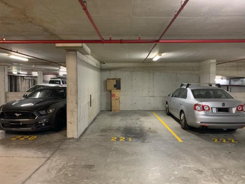Indoor lot parking on Poplar St in Surry Hills