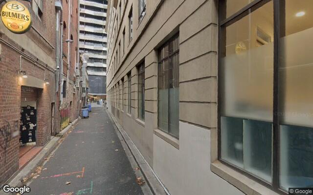 Indoor lot parking on King St in Melbourne