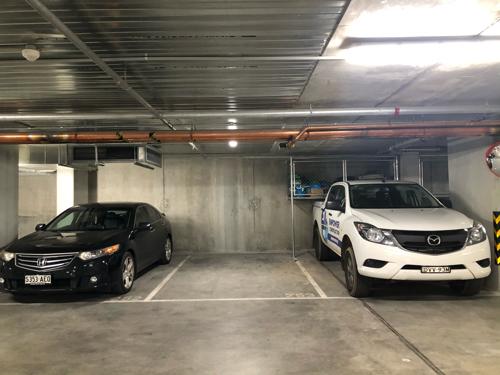 Lock up garage parking on Batman St in West Melbourne