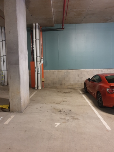 Indoor lot parking on Bowen St in Spring Hill