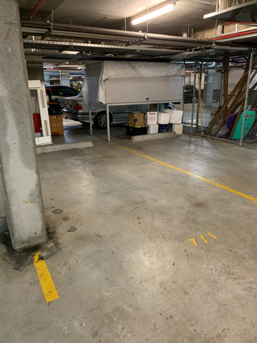 Indoor lot parking on Grandstand Parade in Zetland New South Wales