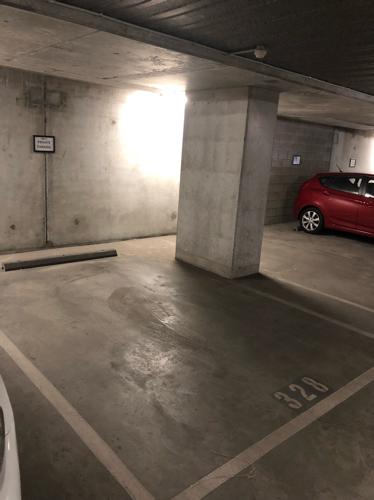 Undercover parking on Franklin St in Melbourne
